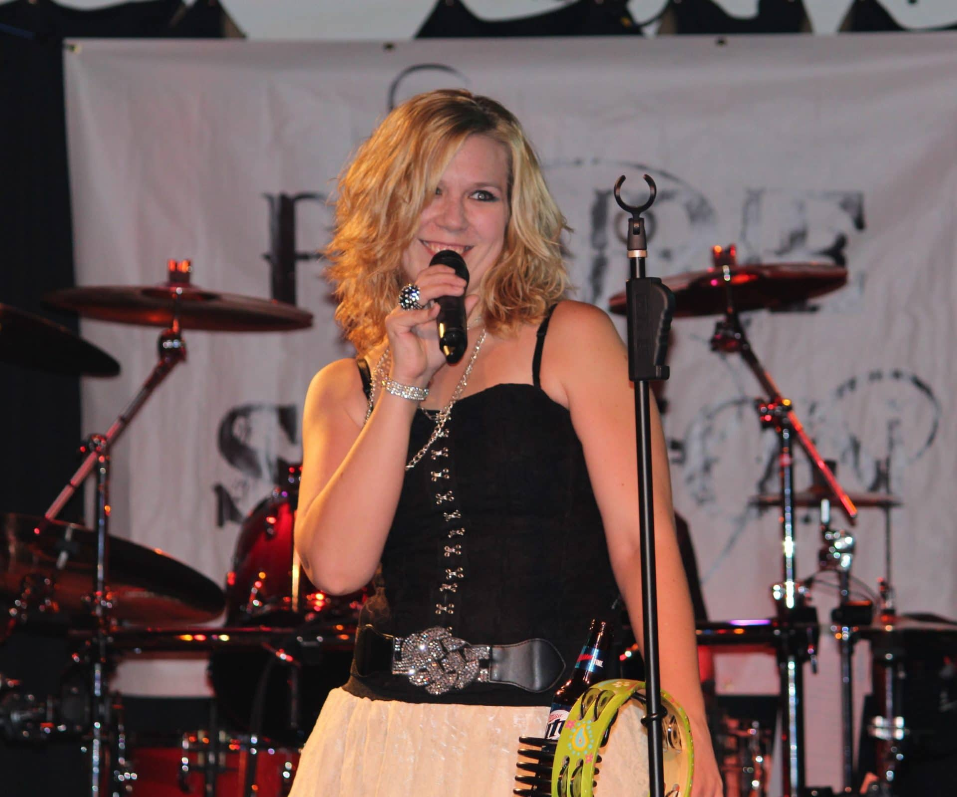 JEN CALIENDO - LEAD VOCALS/TAMBOURINE